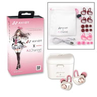 "Kizunaai wireless earphone TE-D01d-kzn ""virtual YouTuber × AVIOT"""