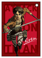 """Eren Yeager synthetic leather pass case """"Attack on Titan"""""""