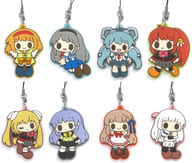 """All eight set """"Key loose memorial rubber strap B"""""""