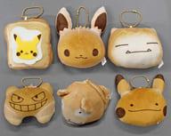 全6種セット 「一番くじ ポケットモンスター Pokemon マスコット~ピカチュウパン屋さん~」