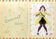台紙付ミニポスター 松浦果南 「一番くじ ラブライブ!サンシャイン!! The School Idol Movie Over the Rainbow」 J賞