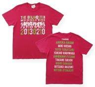 アイドルマスター 公式Tシャツ ピンク(会場限定カラー) Mサイズ 「アイドルマスター MUSIC FESTIV@L OF WINTER!!」