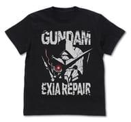 ガンダムエクシアリペア(ヘッド) Tシャツ ブラック Sサイズ 「機動戦士ガンダム00(ダブルオー)」
