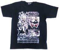 仮面ライダー剣&仮面ライダーエグゼイド なぜTシャツ ブラック XLサイズ 「仮面ライダーエグゼイド」 プレミアムバンダイ限定