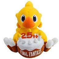 "Chocobo 25th Anniversary Plush Doll ""FINAL FANTASY"""