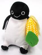 Suicaのペンギン(座り/北海道・とうもろこし) ポージングぬいぐるみ(M)