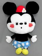 ミニーマウス ミッキー&ミニー カナヘイデザイン スペシャルおっきいぺたんこぬいぐるみ 「ディズニー」