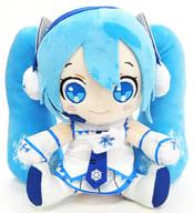 "Yuki Miku plush toy ""SNOW MIKU"" Yuki Miku Sky Town Limited"