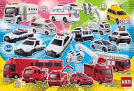 トミカしゅつどう!緊急車両 「トミカ」 学べるジグソーパズル 80ピース [80-003]