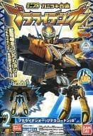 """2. Pteraden O(Ptera Gordon)B""""Beast power quadron Kyoryuger mini plastic Kamikaki union peteraiden O"""""""