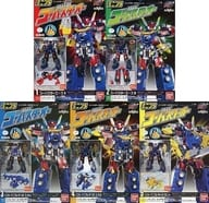 """All five sets """"Minipura Mitsui Sentai Go-Busters' Special Mentioned Go-Buster Oh"""""""