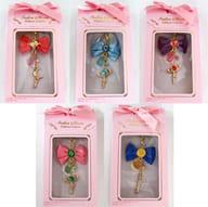 "All five sets ""Sailor Moon Ribbon Charm"""
