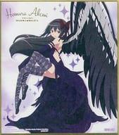 "2. Emura Homura / Foil Stamp ""Magical Girl Madoka ☆ Magica Shikishi ART 3"""