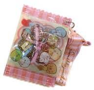 集合 ピンク 「すみっコぐらし えらんでキャンディーパッケージポーチ」