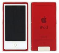 iPod nano 16GB (レッド/刻印サービス使用品) [PD744J/A] (状態:本体のみ/本体状態難)