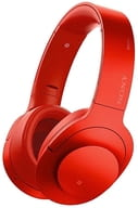 Sony Wireless Noise Canceling Stereo Headset h.ear on Wireless NC (Red) [MDR-100ABN (R)]