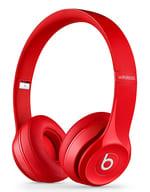 Apple Beats by Dr.Dre Solo2 Wireless オンイヤーヘッドホン (レッド) [MHNJ2PA/A] (状態:本体状態難)