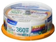 BD-R DL 50GB 20 sheets pack for Mitsubishi Verbatim recording [VBR260YP20SV1]