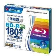 Mitsubishi BD-R Verbatim 25GB 5 pack for recording [VLR130YP5V1]