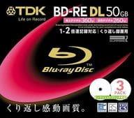 BD-RE DL 50GB 3 pack for TDK recording [BEV50PWA3S]