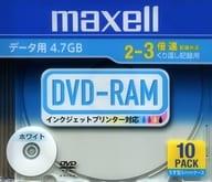 Hitachi Maxell Data DVD-RAM 4.7GB 10Pack [DRM47PWB.S1P10SA]