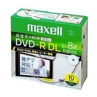 Hitachi Maxell DVD-R DL for recording 6.5GB 10 sheets pack [DRD215PWB.S1P10SA]