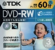 DVD-RW for recording TDK (for 8cm / camcorder) 2.8GB 3-pack [DVD-RW60HCMX3S]