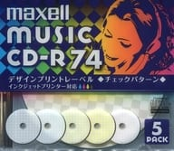 Hitachi Maxell CD-R MUSIC CD-R for 74 minutes 5-piece pack [CDRA74PMIX.S1P5S]