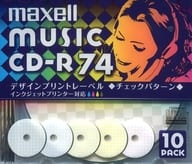 Hitachi Maxell CD-R MUSIC CD-R for 74 minutes 10 pieces pack [CDRA74PMIX.S1P10S]