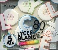 TDK Recording CD-R LYCEE BLAMC FOR MUSIC 700MB 5-Pack Pack [CD-RLC80PWX5N]