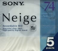 Sony mini disc Neige 74 minutes 5 pieces pack [5MDW74NED]
