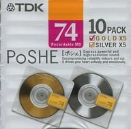Mini Disc PoSHE for TDK recording 74 minutes 10 pieces pack [MD-PSE74MX10N]
