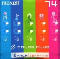 Hitachi Maxell Mini Disc for recording COLOR CLUB 74 minutes 10 pieces pack [CCMD 74 MIX. 10P]