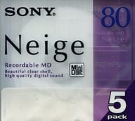 Sony mini disc Neige 80 minutes 5 pieces pack [5MDW80NED]
