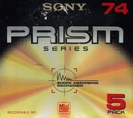 Sony recording mini-disc PRISM 74 minutes 5 pack [5MDW74PR]