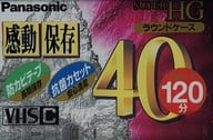 Panasonic VHS-C Compact Video Cassette Tape SUPER HG 40 min [NV-TC40HGK]