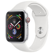 Apple Watch Series 4 GPS + Cellular Model 44mm (Silver / White Sport Band) [MTVR2J / A]