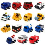 全15種セット 「サントリーコーヒーボス 町の働く車シリーズ ミニミニチョロQコレクション」 2007年キャンペーン品