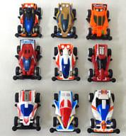 全9種セット 1缶バージョン 「風のレーサー侠/ダッシュ!四駆郎」 2009年 サントリーコーヒーボス ミニ四駆 プルバックカーキャンペーン品