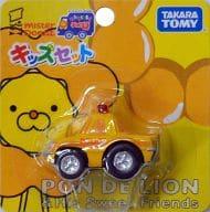 はたらくくるまチョロQ ポン・デ・ライオン パトカー(イエロー×オレンジ) ミスタードーナツキッズセット付属品