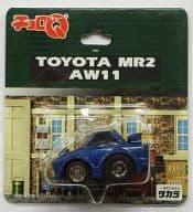 チョロQ トヨタ MR2 AW11(ブルー)