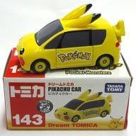 """No.143 Pikachu car (Pokémon) """"Dream Tomica"""""""