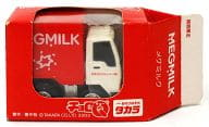 チョロQ MEGMILK 配送トラック(ホワイト×レッド) 関西限定