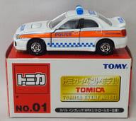 1/59 スバル インプレッサ WRX パトロールカー仕様 #1031(ホワイト×オレンジ) 「トミカ イベントモデル No.01」