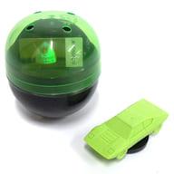 1/100 ランボルギーニ・ウラッコ カプセル(グリーン) 「超精密スーパーカー消しゴム」 [ELCUG001]