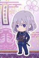 "04. Shiro Torito Shirou deformed illustration seal ""Touken Ranbu - ONLINE - Uehara"""