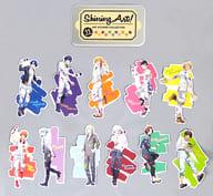 "会议(11人)Shining Art罐头模切贴纸系列(贴纸11件装)""""Uta no☆Prince Sama♪""Animate Girls Festival 2015商品"