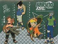 NARUTO-ナルト- ピンズセット(4個入) ジャンプフェスタ2002限定