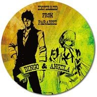 "A. Angela & Dingo Deca can badge ""Exposed paradise-"""