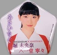 堀未央奈(乃木坂46) 個別缶バッジ 「舞台『あさひなぐ』」